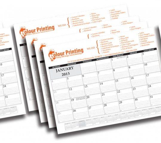 Desktop Calendar 2015