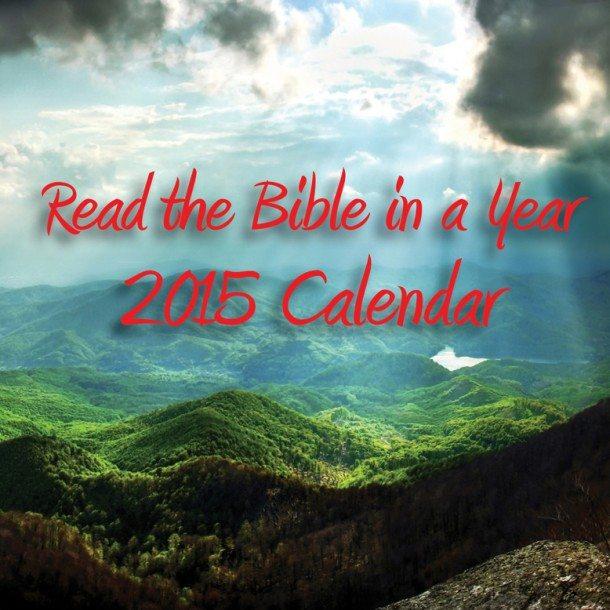 Bible Calendar Printing