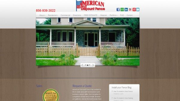 American Discount Fence Website Icon