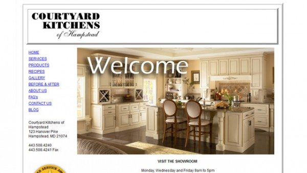 Courtyard Kitchens Website Icon