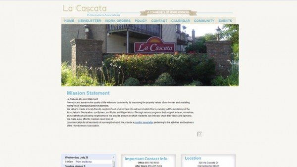 La Cascata Website Icon