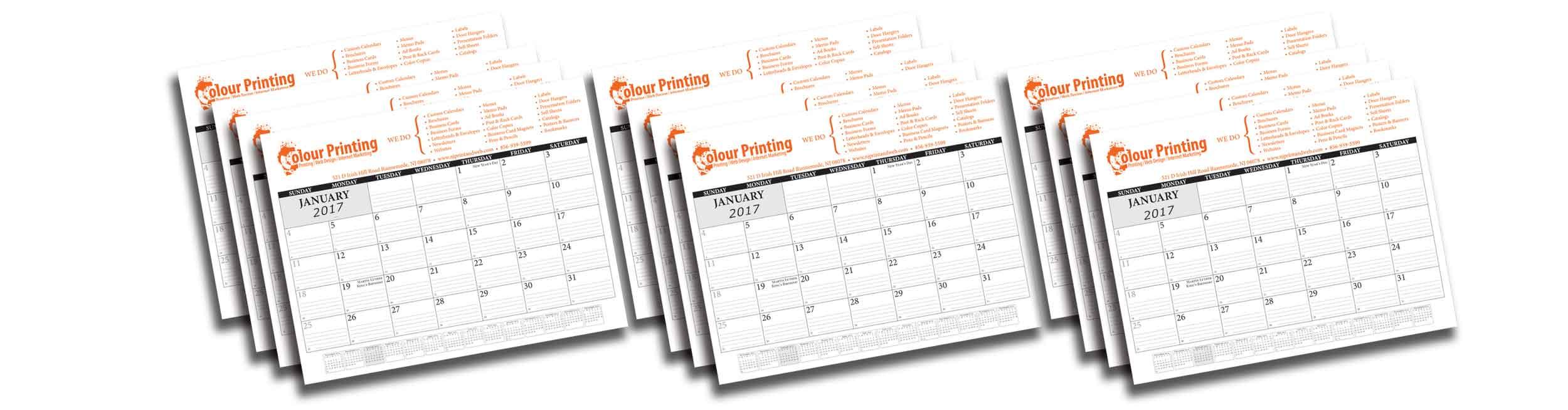 Desk Calendars 2018   Custom Desk Calendars Printing