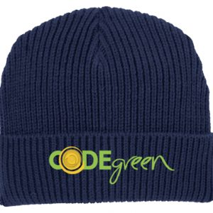 C908blackfront-codegreen-winter-hat