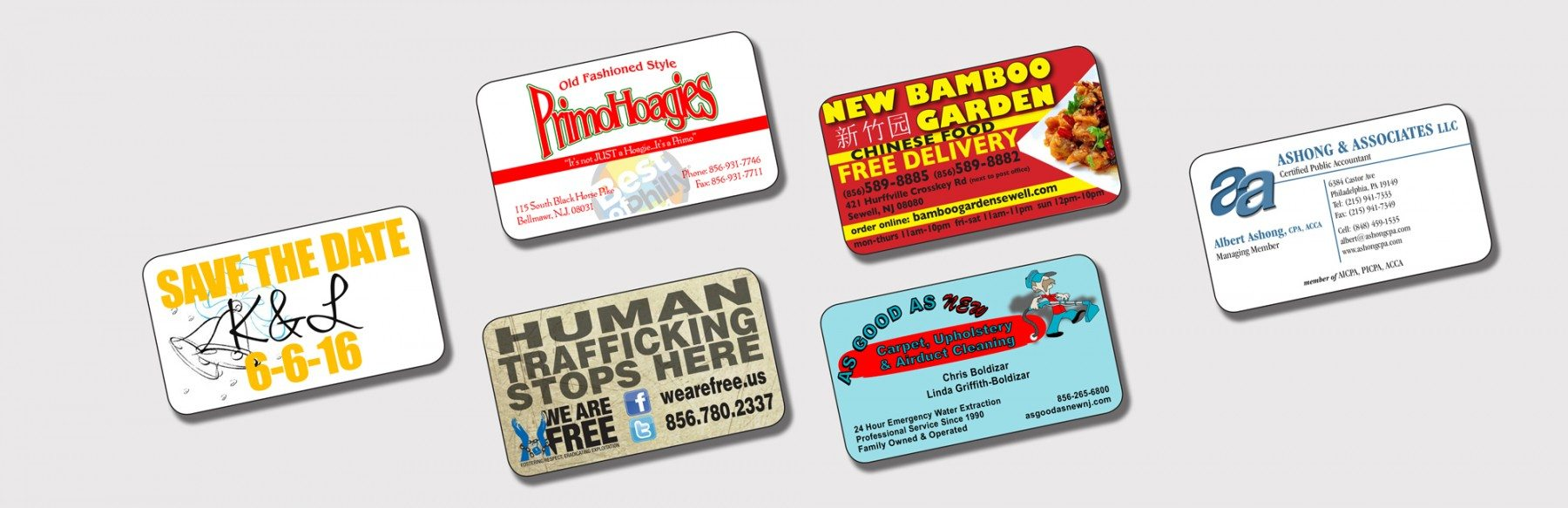 Business Card Magnets Business Cards Njprintandweb