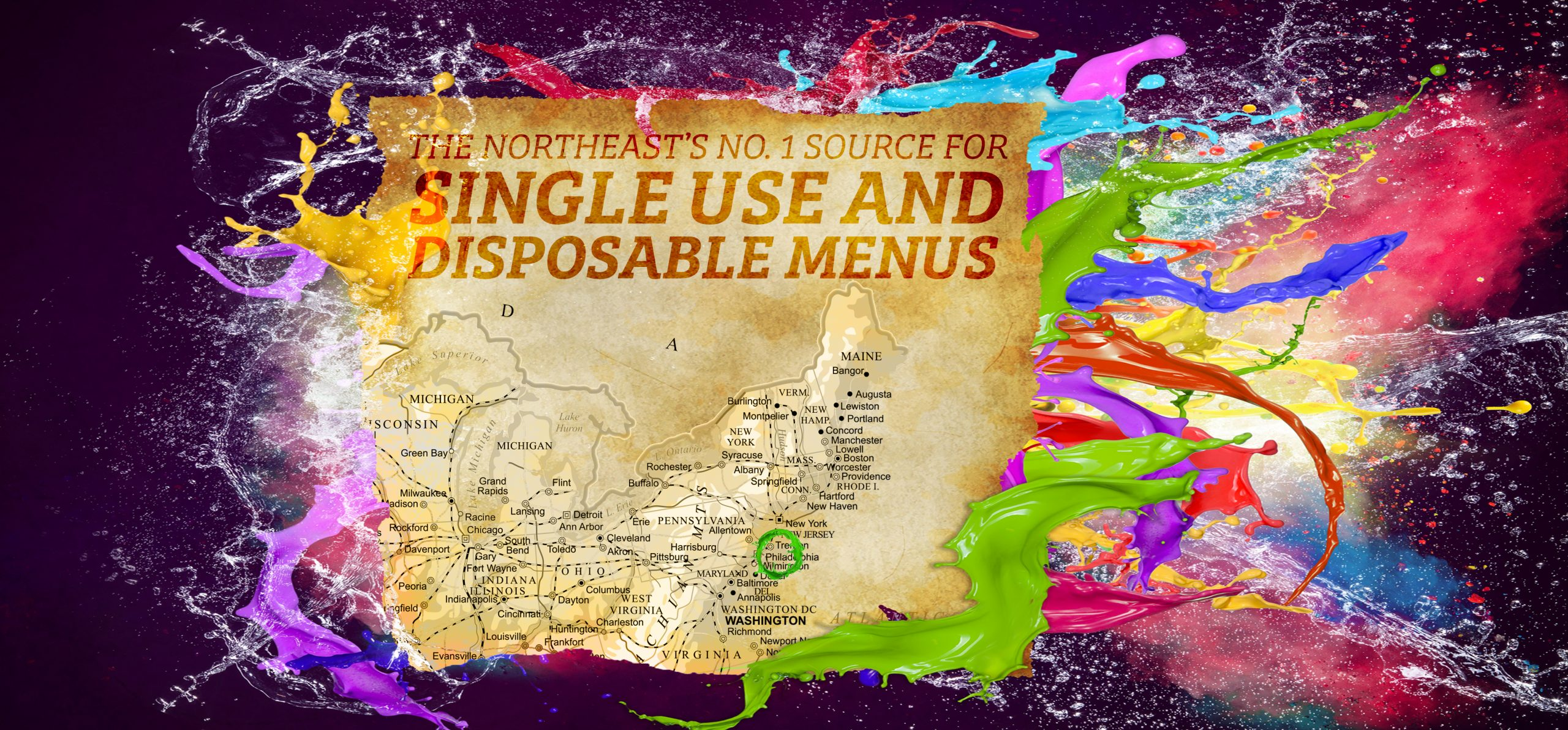 SINGLE USE MENU